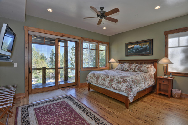 Tahoe Vacation Rentals - Lake Front House - Master Bedroom 2