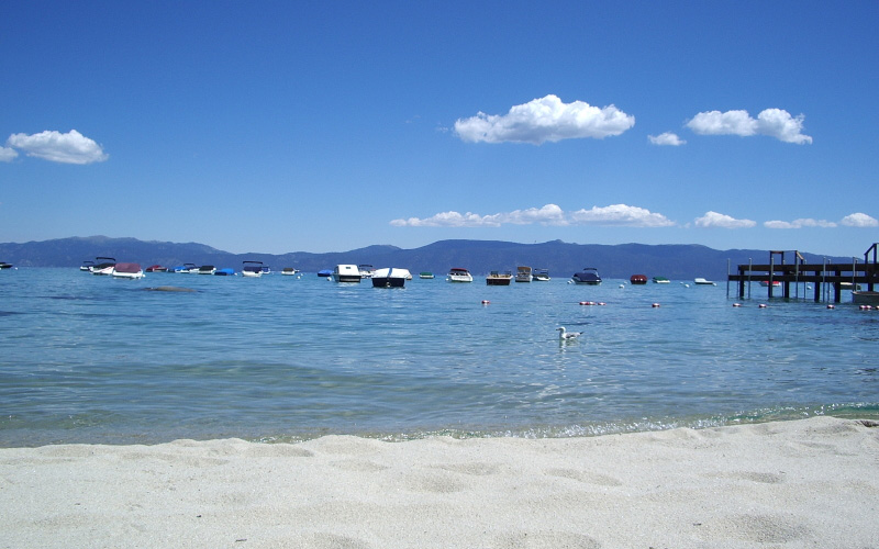 Tahoe Vacation Rentals - Lake Front House - White Sand Beach
